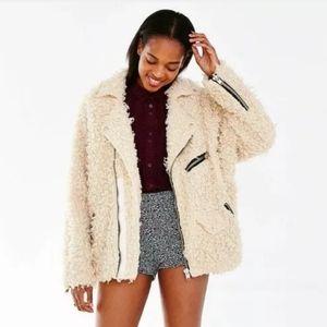 UNIF x UO Furry Coat